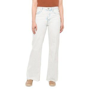 Free People High-Rise Straight Flare Jeans 28